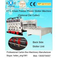 Wholesale Semi Automatic Corrugated Box Making Machine 4 Color Carton Flexo Printer from china suppliers