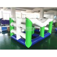 Wholesale Swimming Inflatable Toy Boat , Large Floating Inflatable Water Climbing Wall from china suppliers
