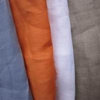 China Solid Dyed Linen Fabric on sale