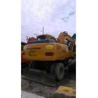 Quality Used HYUNDAI R130W-5 WHEEL EXCAVATOR SALE for sale