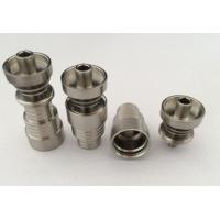 Wholesale 6 in 1 Quartz / Titanium Hybrid Domeless Nail from china suppliers