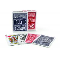Buy cheap Tally-Ho Marked Playing Cards Plastic Invisible Ink Poker Cheating Cards from Wholesalers