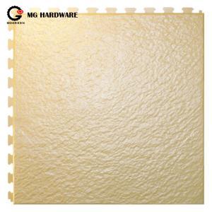 China Anti slip PVC Interlocking Plastic Garage Floor Mats Waterproof 6.5mm Thickness on sale