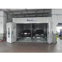 Wholesale Combined Inner Ramp Downdraft Spray Booth , Custom Paint Booth With LED Riello Burner from china suppliers