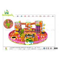 Colorful Indoor Adventure Playground Anti - Static Custom Made Design