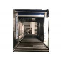 China 380V 50Hz Goods Cleanroom Air Shower With Roller Conveyor Dusting Tunnel for sale