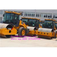 Wholesale Slot Grind Heavy Construction Machinery 14T XCMG Axle XS143J Small Single Drum Road Roller from china suppliers
