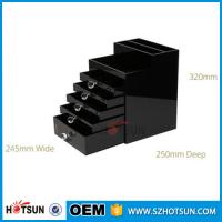 Quality China new products acrylic makeup display, acrylic makeup box, acrylic makeup for sale