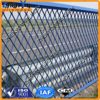 Buy cheap high quality flatten expanded metal wire mesh fence for road anti glare mesh from wholesalers