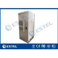 """Wholesale 19"""" 40U IP55 Outdoor Telecom Enclosure, with Air Conditioner, EMS and PDU from china suppliers"""