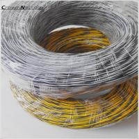 Wholesale Cat3 Telephone Jumper Wires 0.5mm  Blue/Yellow Red/White Yellow Bare Copper/ Tinned Copper 1pair Twisted Jumper Cables from china suppliers