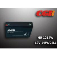 Wholesale HR1214W  12V 3AH Alarm System Batteries , AGM Valve Regulated Deep Cycle Rechargeable Battery from china suppliers