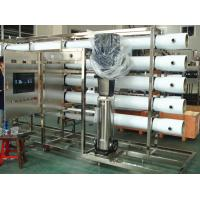 China PET Glass Bottle RO Water Treatment Systems in Stainless Steel , Water Treatment Filter for sale