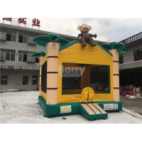 Wholesale Air Monkey Inflatable Bouncer , Palm Tree Samll Inflatable Bounce Castle For Little Kids from china suppliers
