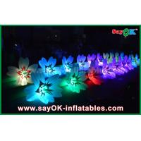 Wedding romantic inflatable led flower chain outdoor inflatable