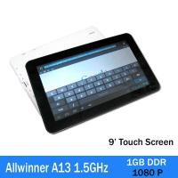 Wholesale 3g Allwinner A13 1.5ghz Touchpad Tablet Pc Capacitive Screen 1080p from china suppliers