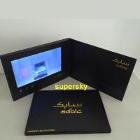 Wholesale 5 inch screen Video Postcard with switch buttons , video mailer  with Hi-Fi speakers from china suppliers