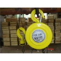 Buy cheap HSZ lifting hoist manual from wholesalers