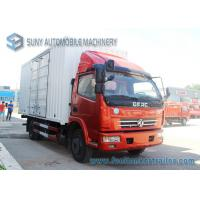 Wholesale 5 T - 8 T 4x2 Dongfeng Refrigerator Van Truck 88 KW / 120 Hp  LHD / RHD from china suppliers