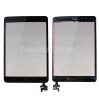 China For iPad mini digitizer touch screen with IC Connector adn home button Assembly -Black on sale