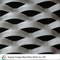 Wholesale Expanded Aluminum /Aluminum Expanded Metal Mesh In Flat and Raised Forms For Curtain Wall from china suppliers