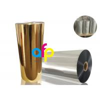 Wholesale BOPP Thermal Metalized Film Various Color 52 Dynes Double Corona Treatment from china suppliers