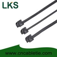 Wholesale LKS-610S PPA Coated Releasable Stainless Steel Cable Ties from china suppliers
