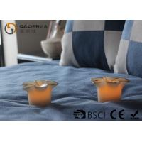 Wholesale Flower Shape Safety Real Wax LED Candles For Home Decoration RW-127 from china suppliers