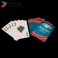 Wholesale Custom bridge playing cards 57x87mm double-sided printing from china suppliers