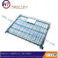 """Wholesale Durable Heavy Duty Four Wheels Wire Mesh Container Storage Cage with Caster 4"""" - 5"""" from china suppliers"""