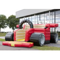 Wholesale Race Car Kid Inflatable Bouncers Funny Jumping Pvc Tarpaulin Material from china suppliers