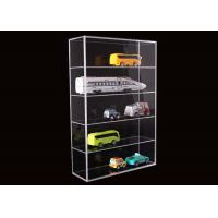 Wholesale 5 Layer Clear Acrylic Display Stands Airplane Cars Model Storage Rack Customised from china suppliers