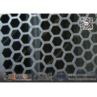 Hexagonal Hole Perforated Metal Plate China Exporter