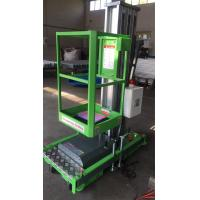 China CE Single Mast Aerial Platform Lift With Chargeable Battery , Easy Using for sale