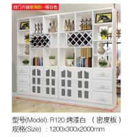 China Light Color Wall Divider Cabinet 1200*300*2000mm Large Storage Space on sale