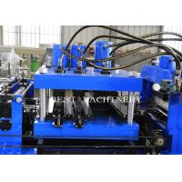 China 80-300 Mm Automatic C Z Purlin Roll Forming Machine PLC Control System on sale