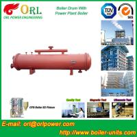 Wholesale Floor Standing CFB Boiler Drum Non Toxic , Steam Drum In Boiler from china suppliers