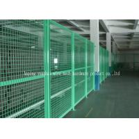 Wholesale Metal PVC Coated Temporary Security Fencing For Backyard OEM / ODM Available from china suppliers