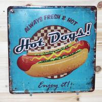 Wholesale Wall Decorative Vintage Metal Signs Metal Vintage Advertising Tins from china suppliers