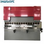 China SWANSOFT Power Hydraulic 100T 2000mm E21 NC control for press brake Sheet Plate Metal brake lining press machine for sale