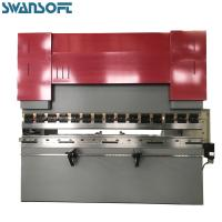 China SWANSOFT WC67Y 200T/3200 hydraulic nc press brake with E21 system sheet-metal bending machine for sale