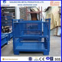 Buy cheap ISO / CE Qualified Stackable Steel Wire Box with Cheap Price from Chinese from wholesalers