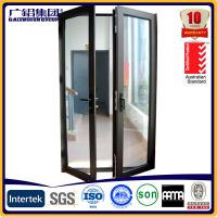 Buy cheap aluminium glass double sashes swing and hinged doors from wholesalers