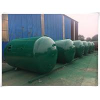 Wholesale Horizontal Air Receiver Tanks For Compressors , Stainless Steel Pressure Vessel from china suppliers