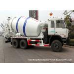 China DFAC 6x4 Small Concrete Mixer Truck 8 Cbm , Moblie Concrete Batch Truck for sale
