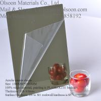 Wholesale Plastic Mirror Sheets - Plastic Mirror Sheet Wholesale 1220x2440mmx3mm thickness from china suppliers