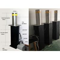 Quality Full Automatic Steel Rising Removable Bollards Systems For Building Security for sale