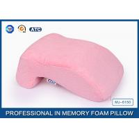 Wholesale Elegant No Hole Memory Foam Nap Rest Pillow With Cotton Velvet Cover from china suppliers