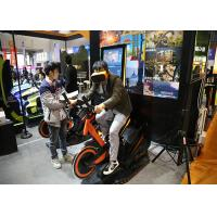 Wholesale Arcade Games Machines Virtual Reality Bike With 9D VR 360 Degree 3D Glass Headset from china suppliers