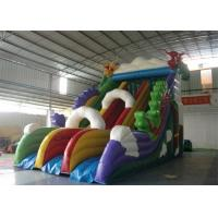 Wholesale Dragon Trippo Commercial Inflatable Slide With Durable Plato PVC Tarpaulin from china suppliers